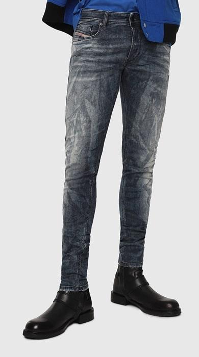 Sleenker ディーゼル メンズ デニム サイズ感 セール YOOX 通販 評判