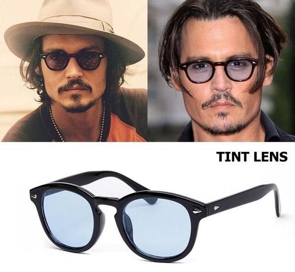 サングラス ブルーレンズ ジョニーデップ 眼鏡 おすすめ ブランド キムタク メンズ