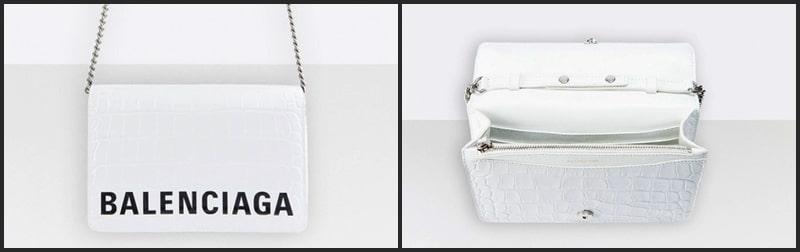 バレンシアガ チェーンウォレット 財布 お財布syるだー ミニバッグ 人気