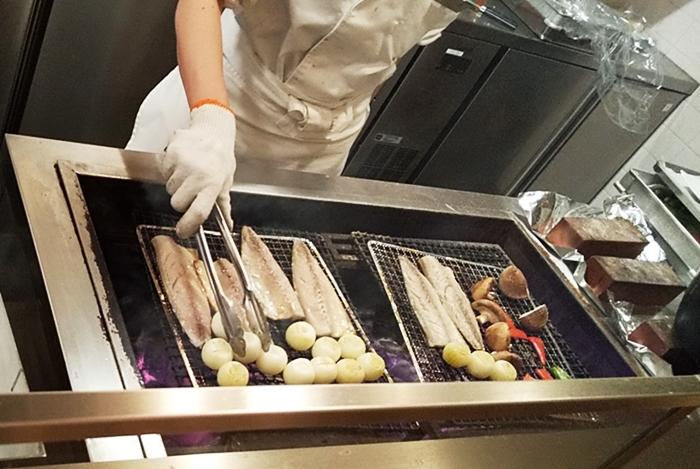 ホテルクラッド 夕食,御殿場,アウトレット,和食,炭火焼