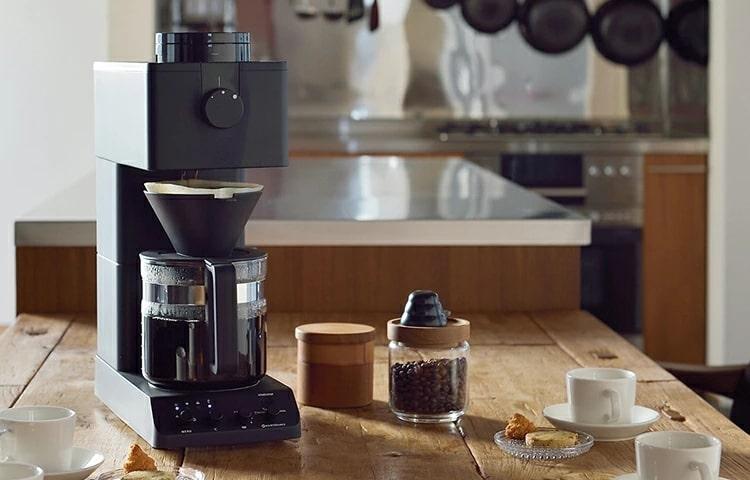 ツインバードコーヒーメーカー 美味しい,全自動,ミル付き,高級,