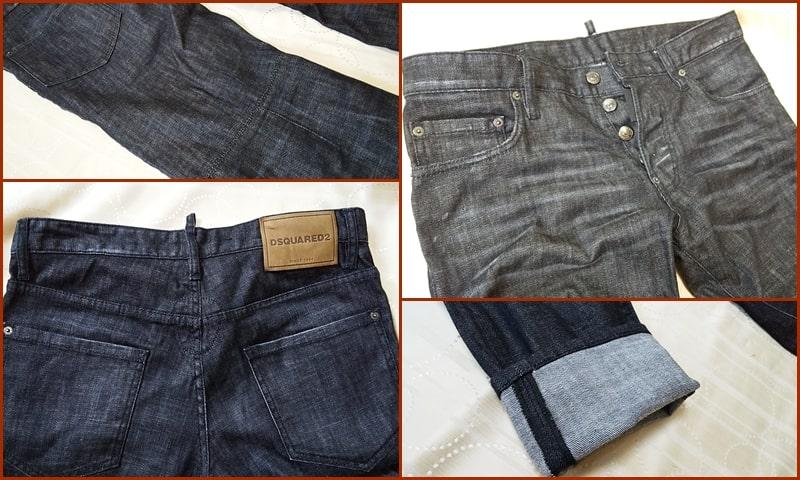 ディースク ブラックジーンズ,デニム,メンズ,サイズ感,人気,種類,中古,ストレッチ,伸びる
