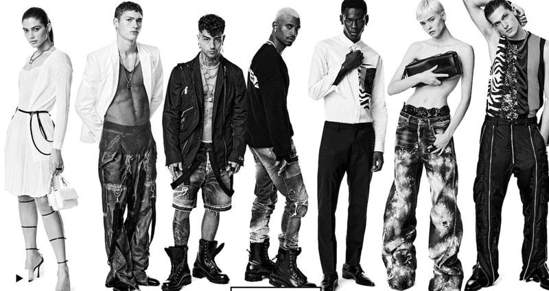 ディースクエアード デニム,メンズ,サイズ感,人気,種類,コーデ,ストレッチ,伸びる